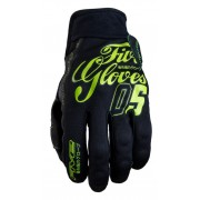 FIVE GLOVES SLIDE - HIRO FLUO YELLOW