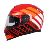 AXXIS EAGLE SV SKYN KASK - GLOSS RED KAPALI KASK
