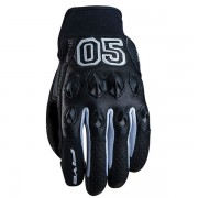 FIVE GLOVES STUNT LEATHER CAMPUS BLACK